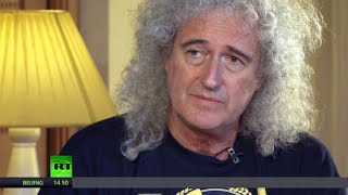 Queen's Brian May 'Politicians pit us to war but people just want normal life'