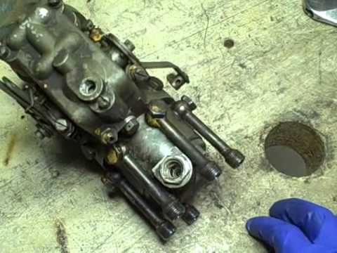Oliver 770 Industrial Tractor Project Part 59: Roosa Master DB injection pump