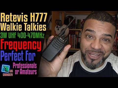 Retevis H777 Walkie Talkies 🔊  : LGTV Review