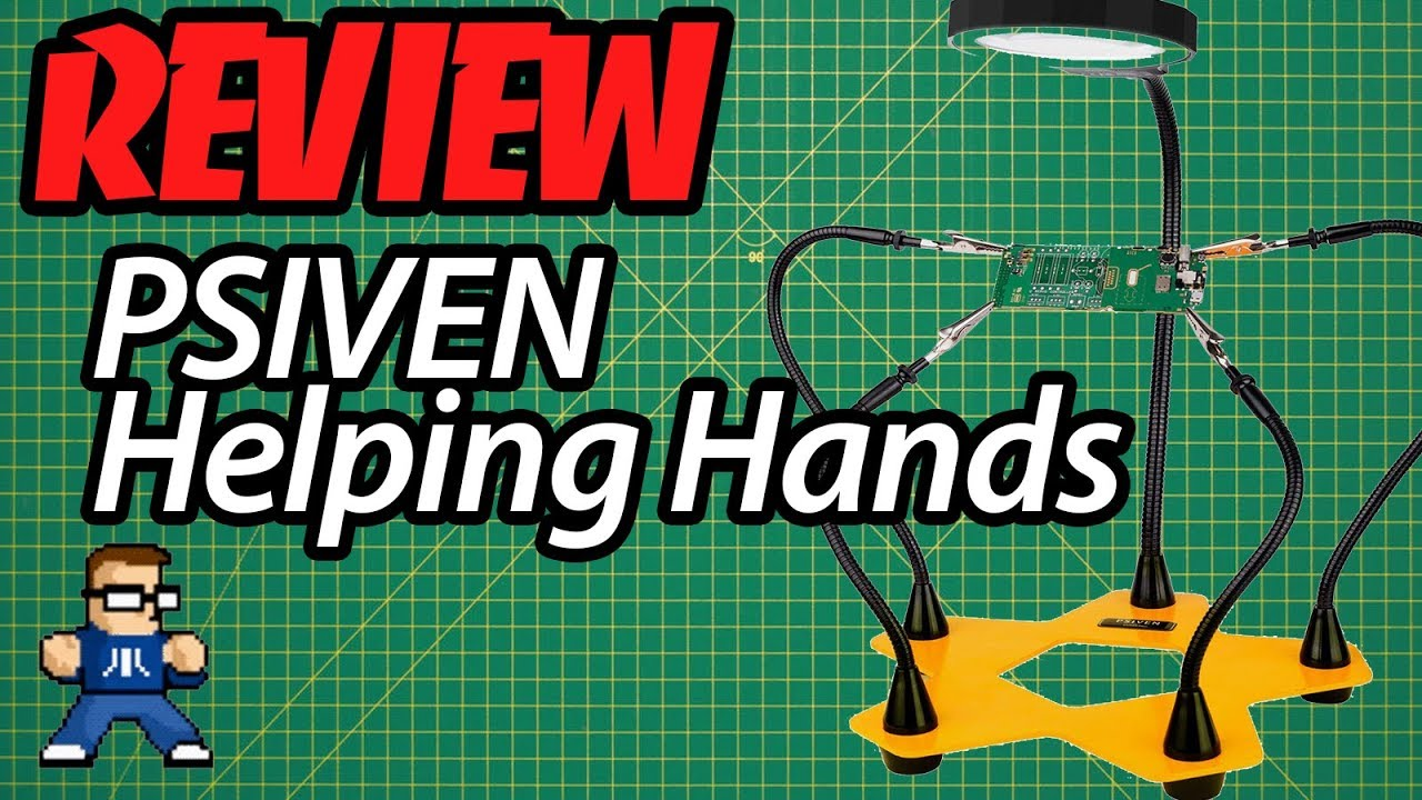 PSIVEN Helping Hands Review: The Best Helping Hands For The Price