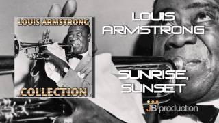 Sunrise Sunset from Fiddler on the Roof featured Louis Armstrong and pianist