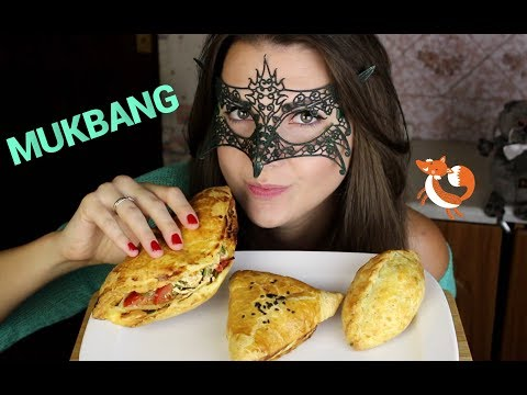 МУКБАНГ Чаепитие с пирожками *РАБОТА ОФИЦИАНТКОЙ*/MUKBANG Tea & baking *SOFT EATING SOUNDS*