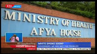 Talks to end the ongoing health workers is in progress at Nairobi's Afya house
