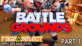 WWE 2K Battlegrounds (The Dojo) Let's Play - Part 1