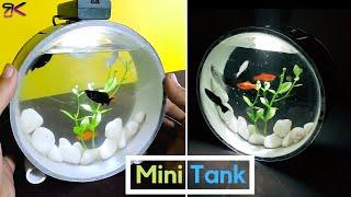 [DIY] Beautiful Mini Aquarium using PVC Pipes | Aquarium