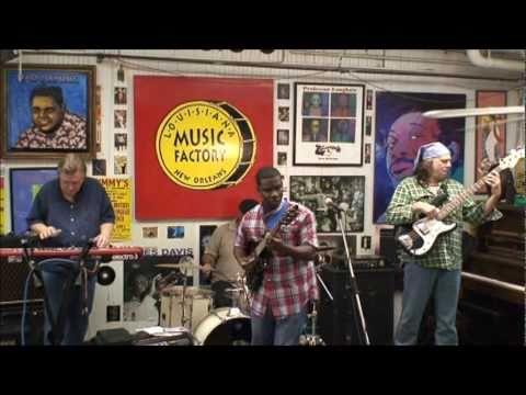Kipori Woods @ Louisiana Music Factory 2011