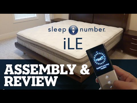 Sleep Number iLE bed Assembly & Review