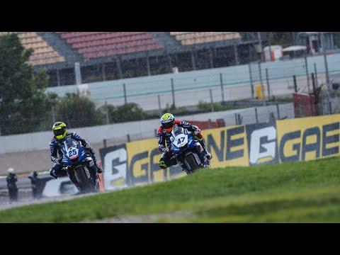 スーパーバイク世界選手権 第6戦スペイン(カタルニア・サーキット)雨の中行われた決勝レース1のレースダイジェスト動画