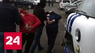 Пойманные в Махачкале игиловцы собирались сбросить бомбу с квадрокоптера - Россия 24