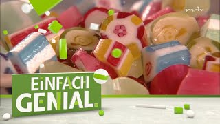 Rockbonbons herstellen - Henriette im bunten Bonbon-Paradies   Einfach genial   MDR