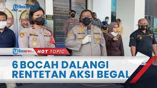 Dalang Rentetan Aksi Begal di Bintaro Terungkap, Pelaku Ternyata 6 Bocah yang Iseng saat Akhir Pekan