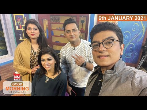 Good Morning With Dr Ejaz Waris 06 January 2021 | Kohenoor News Pakistan