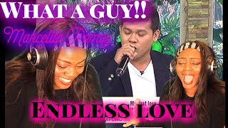 "MARCELITO POMOY SINGING ""ENDLESS LOVE"" [REACTION VIDEO]"
