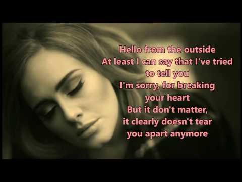 Adele - Hello (lyrics) – Cover