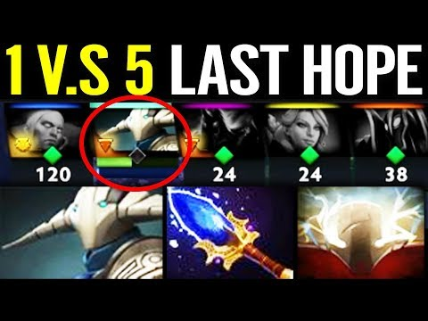 1v5 They Think its Over But, No SVEN Hold it Back - Scepter 7.22 Sven Dota 2 gameplay