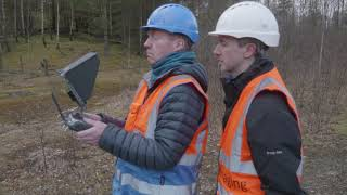Topographic Survey Using a Drone (Old Version)