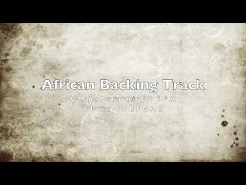 African Style Backing Track in C Major