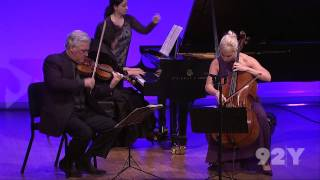 Zukerman Trio plays Mendelssohn: Piano Trio in D Minor, Op.49 – 1st movement