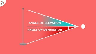 Angle Of Elevation And Angle Of Depression - CBSE Class 10
