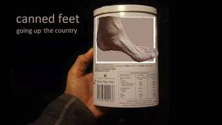 CANNED FEET
