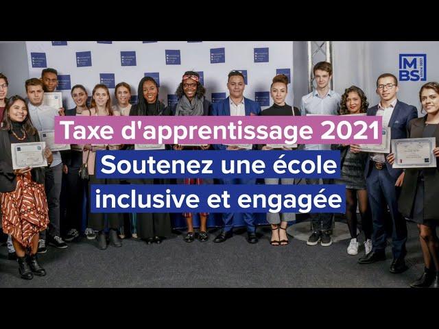 Taxe d'apprentissage 2021 – Soutenez une école inclusive et engagée