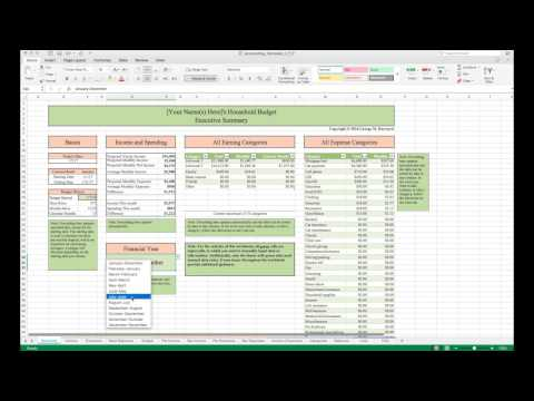 mp4 Finance Excel Template, download Finance Excel Template video klip Finance Excel Template