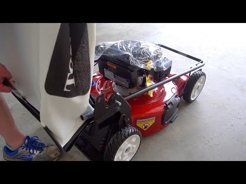 Toro 22in Recycler Lawn Mower Unboxing & Assembly