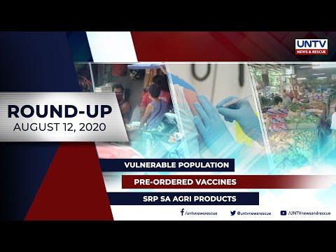 [UNTV]  UNTV NEWS ROUNDUP: Mga balitang dapat mong malaman (August 12, 2020)