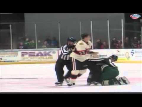 Brandon Mashinter vs. Tyson Strachan
