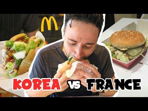 MCDONALD'S CORÉE DU SUD VS FRANCE
