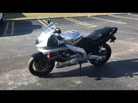 2005 Yamaha YZF-600R in Belleville, Michigan - Video 1