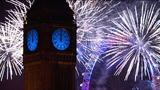 London Fireworks 2015/ 2016 - New Year
