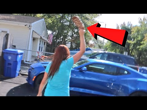 Wife Went After His New Camaro In Wedding Ring Meltdown
