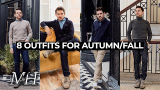 8 Smart Casual Looks To Try This Autumn/Fall | Men's Fashion Inspiration