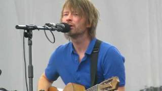 Thom Yorke Solo   New Song   Latitude 2009   The Present Tense