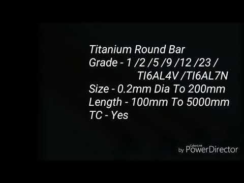 Ti-6Al-7Nb Round Bar