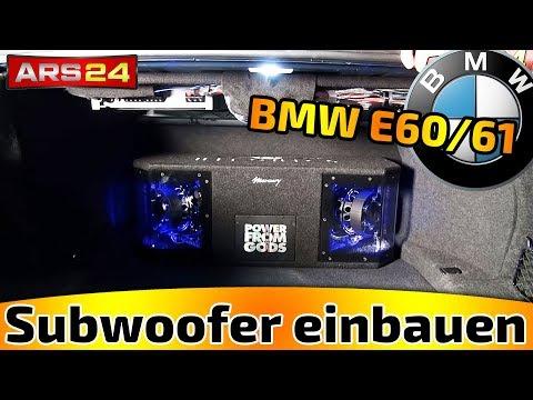 Subwoofer im BMW E60/61 einbauen -TUTORIAL- ARS24