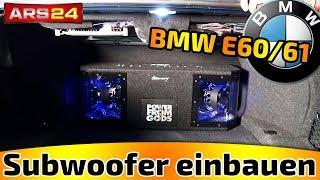 BMW E60 und E61 Subwoofer und Endstufe nachrüsten I ARS24