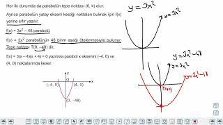Eğitim Vadisi AYT Matematik 2.Föy İkinci Dereceden Fonksiyonlar Konu Anlatım Videoları