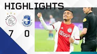 Highlights Ajax - Spakenburg | Scoring debut for Ünüvar! | KNVB Cup