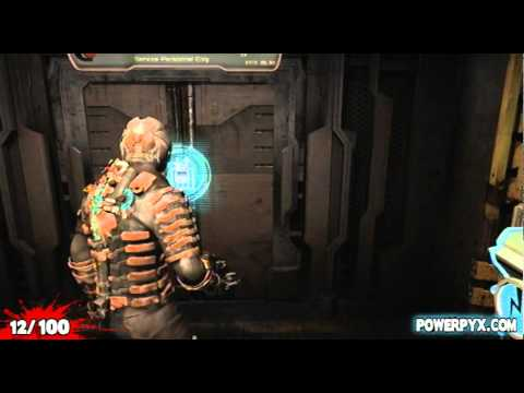 on dead space 2 schematic locations