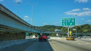 14-31 Charleston, WV I-64 & I-77 Through the city