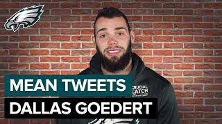 Dallas Goedert Reads Mean Tweets | Philadelphia Eagles