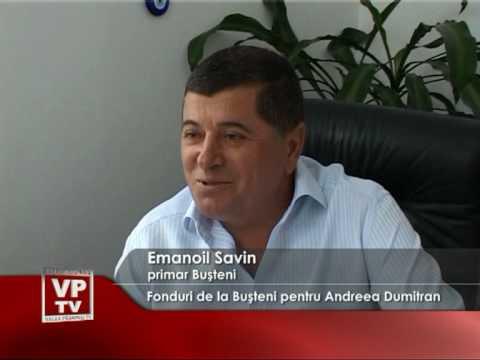 Fonduri de la Buşteni pentru Andreea Dumitran