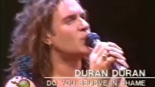 Duran Duran - I dont want your love, Do you believe in Shame - Rock over Europe 1989