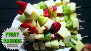 Fruit Kabobs/skewers!