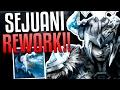 SEJUANI REWORK FULL, TANK CLASS UPDATE!! | League of Legends