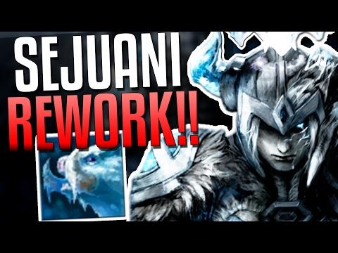 SEJUANI REWORK FULL, TANK CLASS UPDATE!!   League of Legends