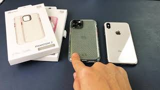 iPhone 11 Pro/XS/X: Nimbus9 Phantom 2 Premium Rubbery Raised Edge Case (Drop Tested)