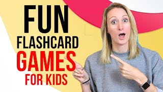 Easy ESL Games With Flashcards For Kids